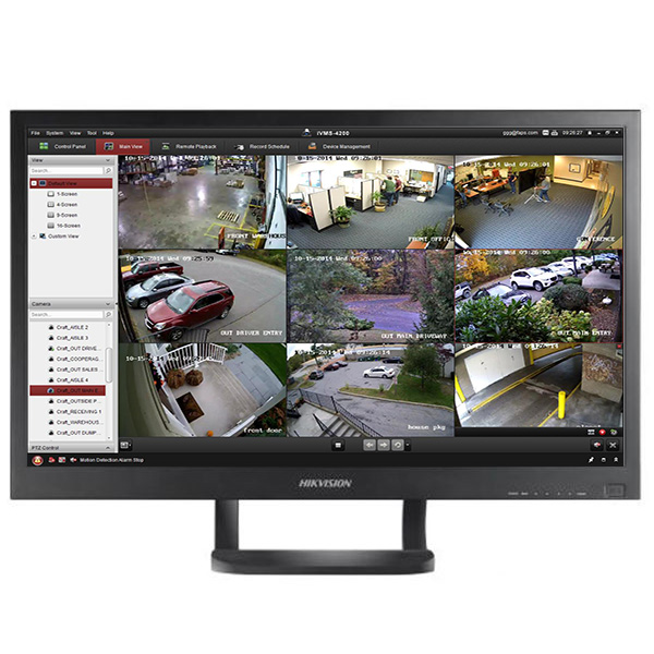 Hikvision screen